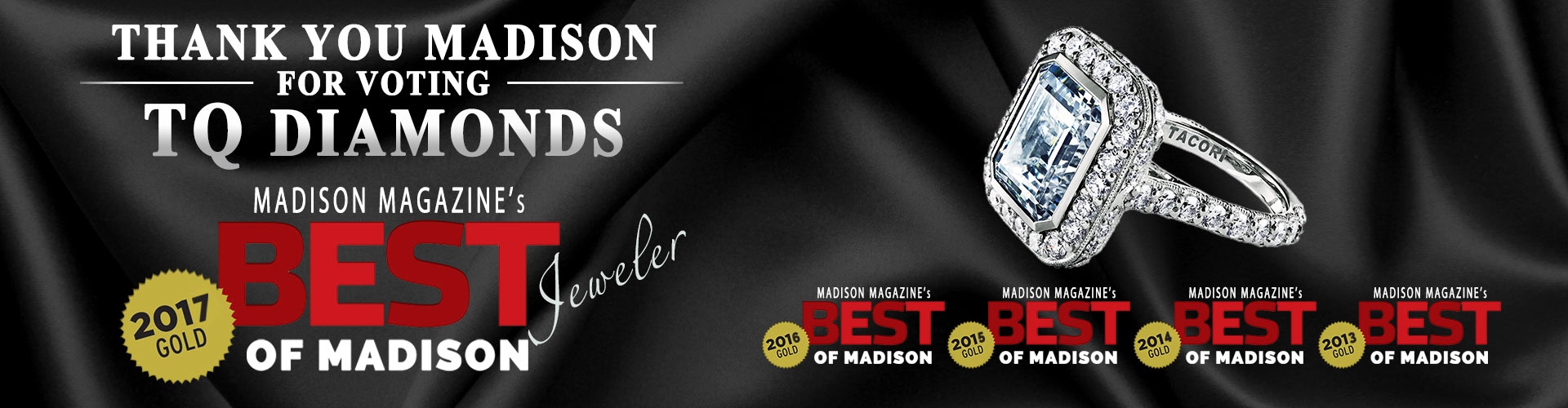 We Won - Best Jeweler of Madison 2017