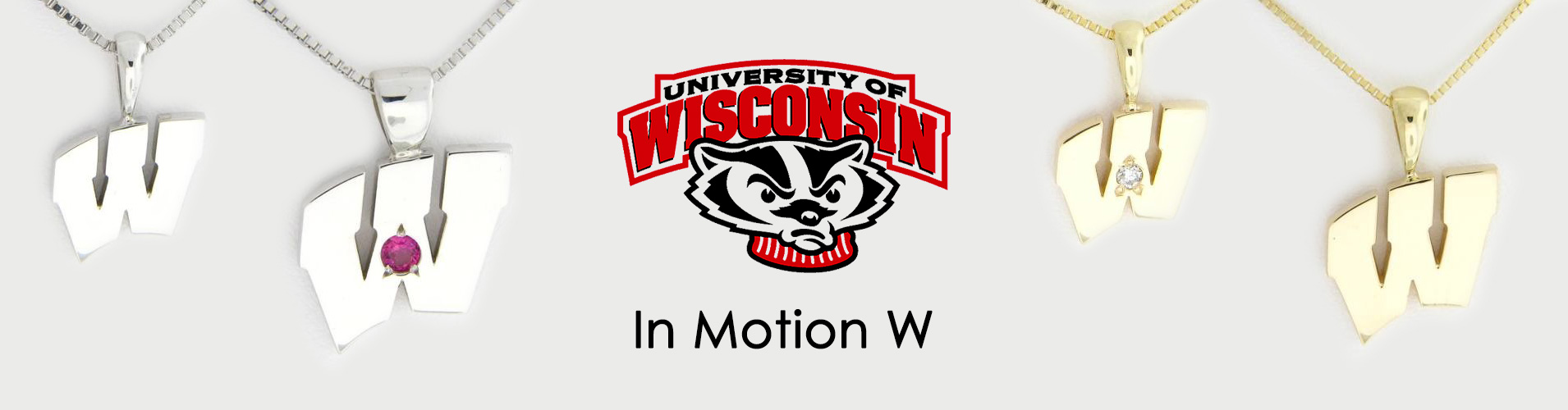 UW Bucky Badger Motion W