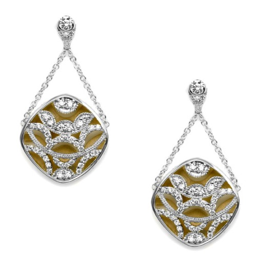 Tacori Diamond Earrings Platinum Fine Jewelry FE656