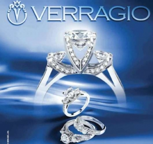 Verragio 18 Karat Classico Engagement Ring ENG-0288 Alternative View 2