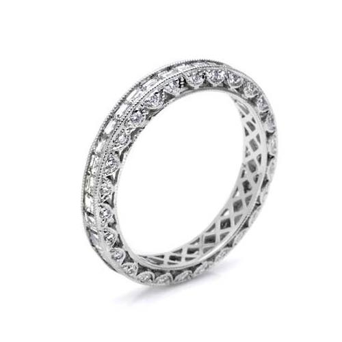 Tacori HT2273B 18 Karat Wedding Band Alternative View 3
