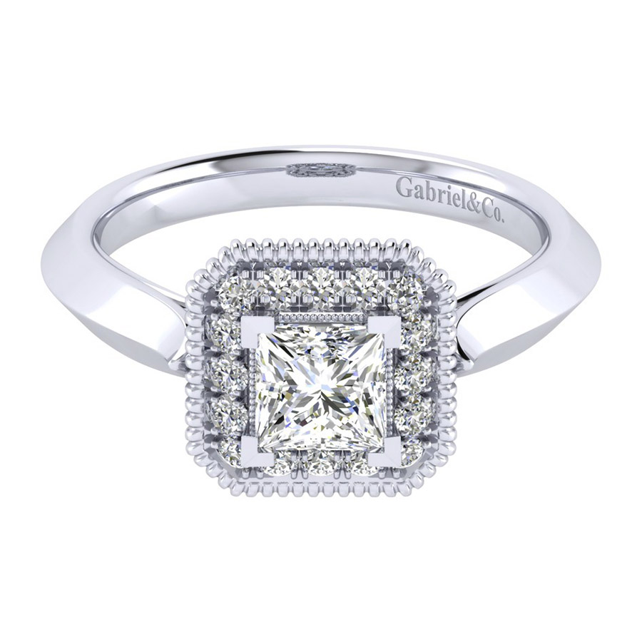 Gabriel 14 Karat Perfect Match Engagement Ring ER001B3ALW44JJ