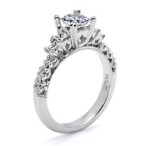 Tacori Crescent Platinum Engagement Ring HT2365PRP12 Alternative View 1