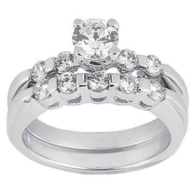 Taryn Collection 14 Karat Diamond Engagement Ring TQD A-365