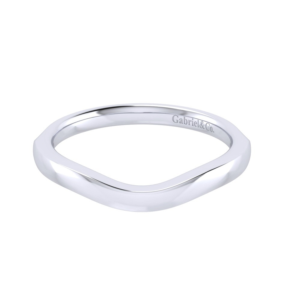 Gabriel 14 Karat Perfect Match Wedding Band WB001BW4JJJ