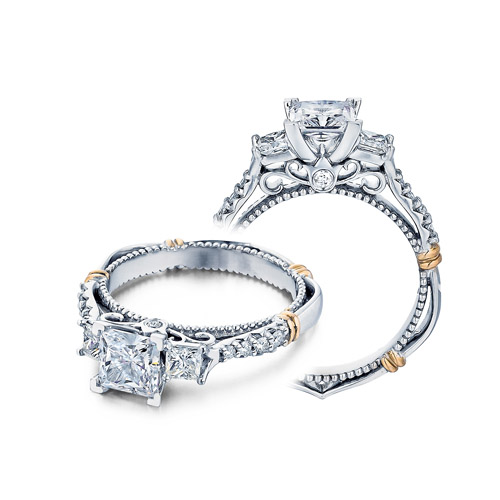 Verragio Parisian-124P 18 Karat Engagement Ring