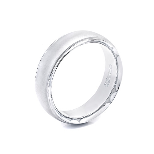 Tacori Platinum Crescent Wedding Band  617, 617S, 617-1, 617-1S Alternative View 1