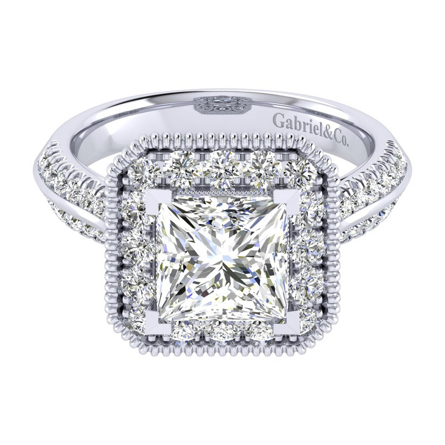 Gabriel 14 Karat Perfect Match Engagement Ring ER002C8ALW44JJ