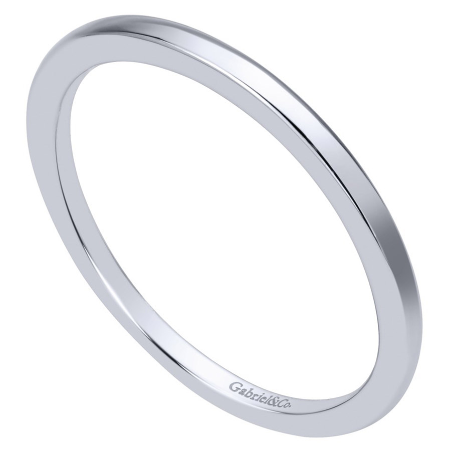 Gabriel 14 Karat Contemporary Wedding Band WB911778R0W4JJJ Alternative View 2