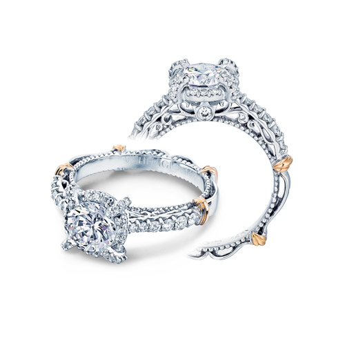 Verragio Parisian-121R Platinum Engagement Ring