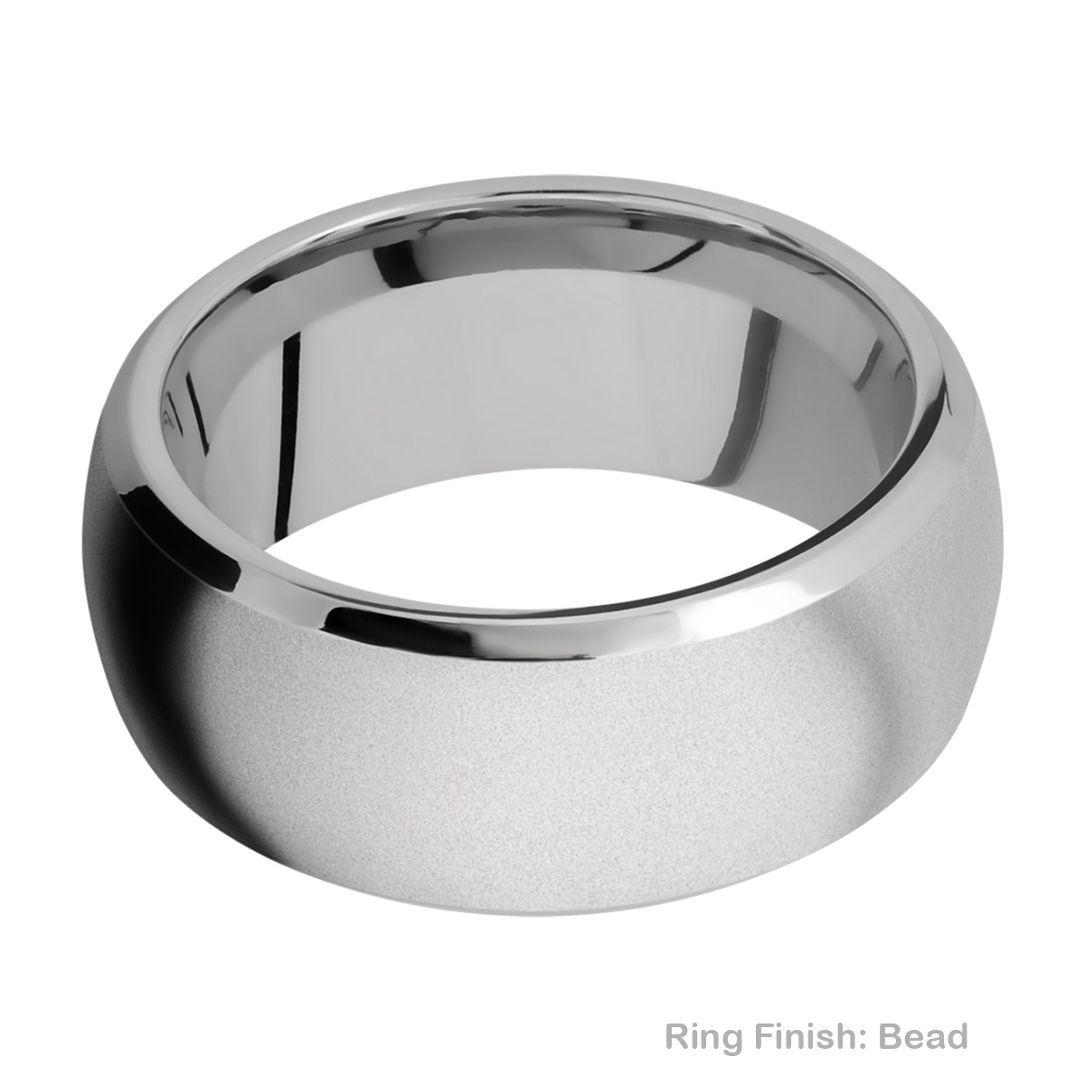 Lashbrook 10DB Titanium Wedding Ring or Band Alternative View 2