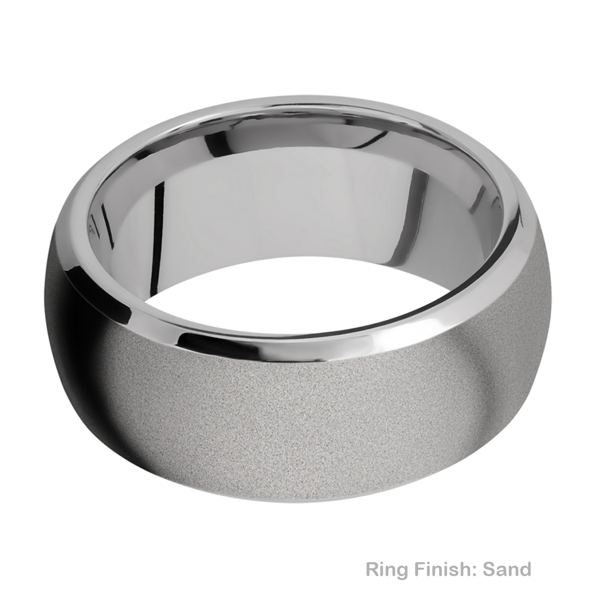 Lashbrook 10DB Titanium Wedding Ring or Band Alternative View 4