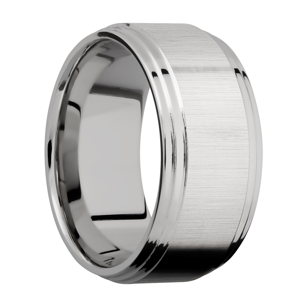Lashbrook 10F2S Titanium Wedding Ring or Band Alternative View 1
