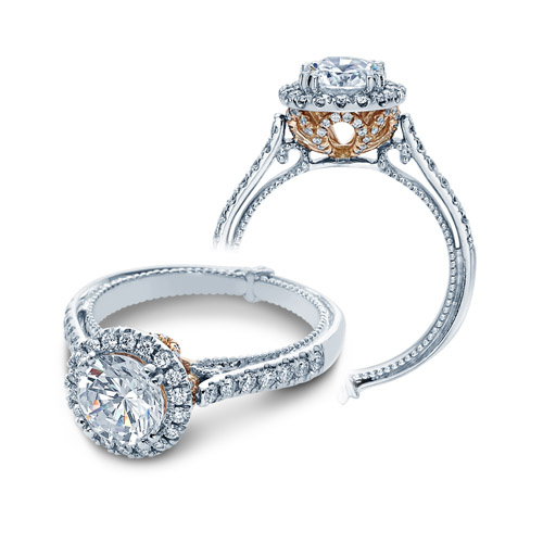 Verragio Couture-0433R-TT 14 Karat Engagement Ring
