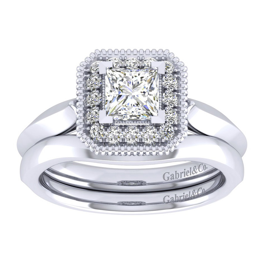 Gabriel 14 Karat Perfect Match Engagement Ring ER001B3ALW44JJ Alternative View 3