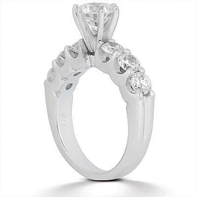 Taryn Collection 14 Karat Diamond Engagement Ring TQD A-721 Alternative View 1