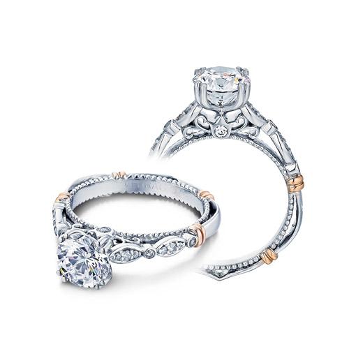 verragio parisian 100 platinum engagement ring tq diamonds