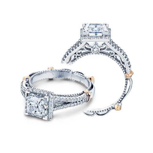 Verragio Parisian-107P Platinum Engagement Ring