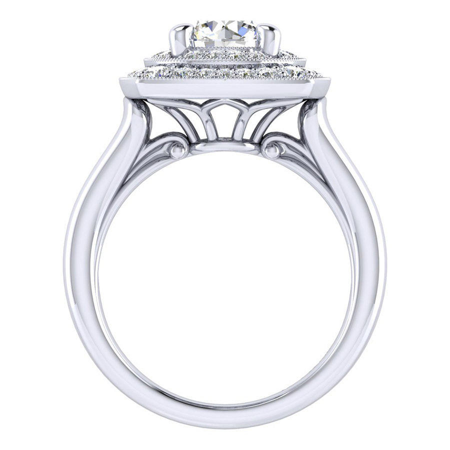 Gabriel 14 Karat Perfect Match Engagement Ring ER009C6AFW44JJ Alternative View 1