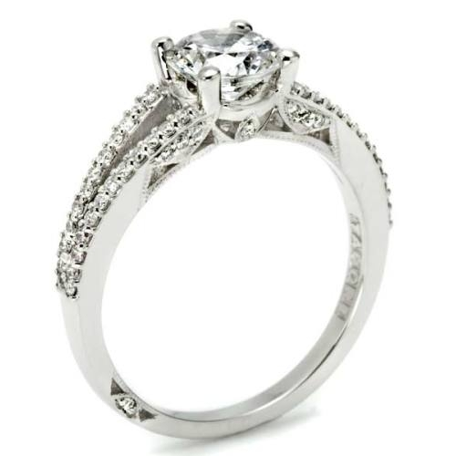Tacori 18 Karat Simply Tacori Engagement Ring 2632RD65 Alternative View 3