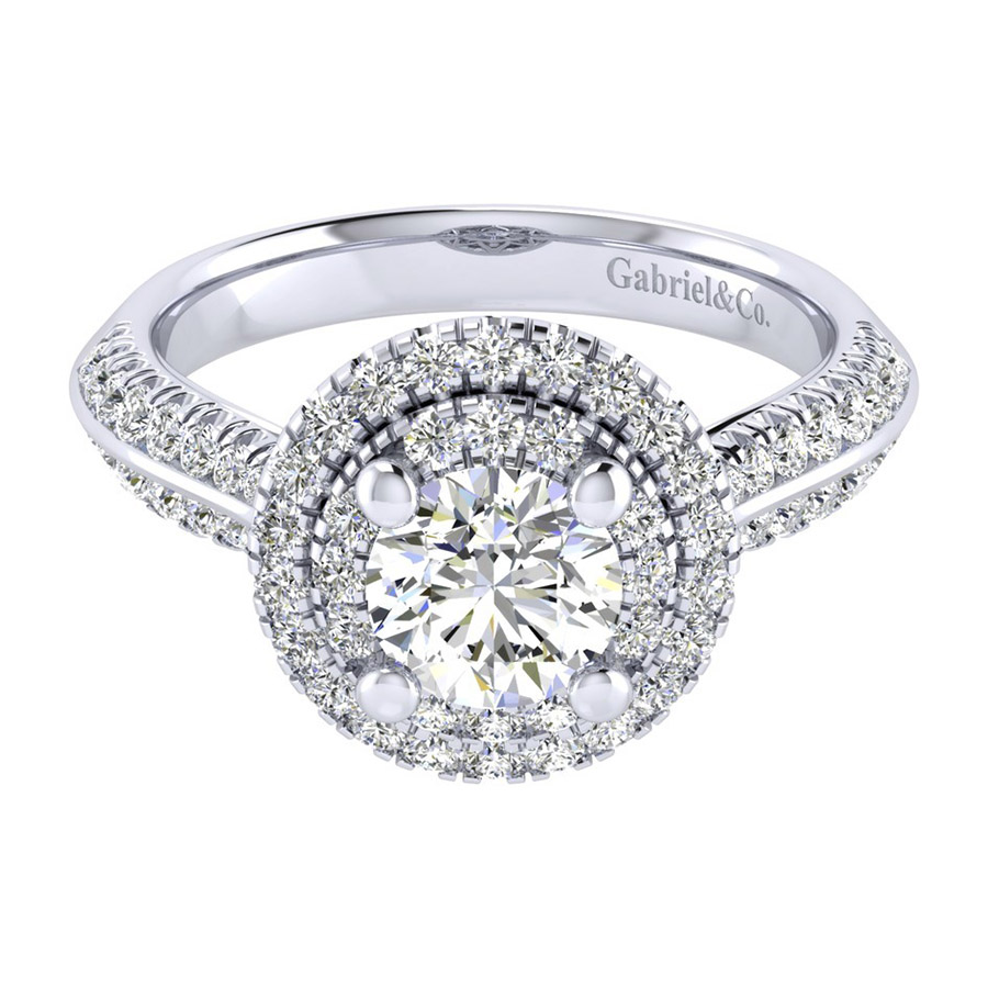 Gabriel 14 Karat Perfect Match Engagement Ring ER002B4AIW44JJ
