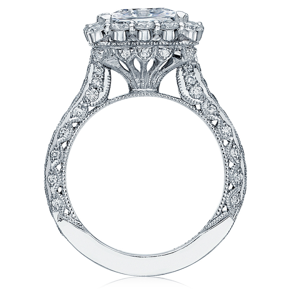 HT2605PR85 Platinum Tacori RoyalT Engagement Ring Alternative View 1