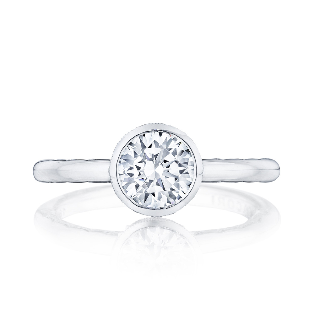 300-2RD65 Platinum Tacori Starlit Engagement Ring