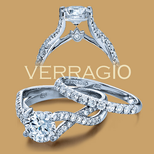 Verragio 18 Karat Couture Engagement Ring Couture-0374 Alternative View 1