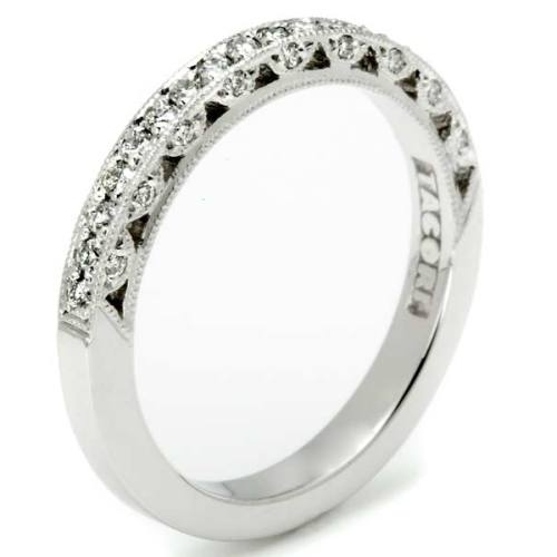 Tacori 18 Karat Crescent Silhouette Wedding Band HT2259B12X Alternative View 1