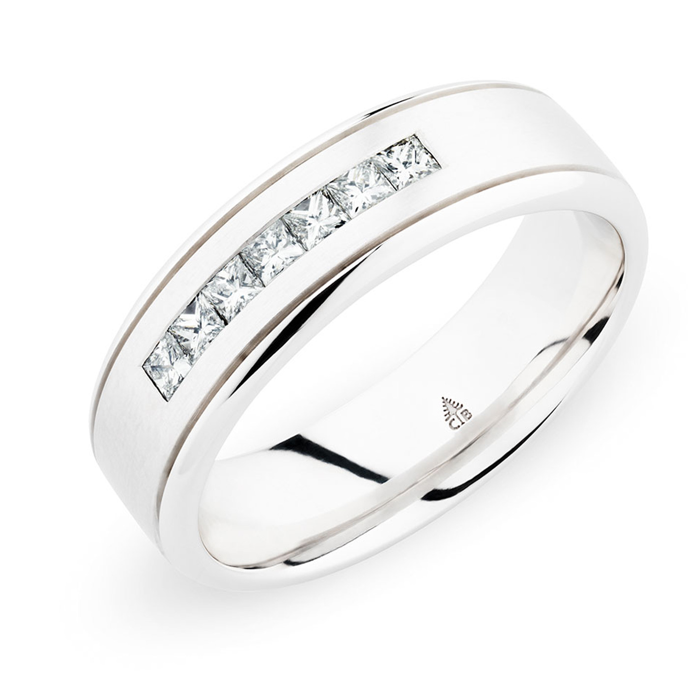 244743 christian bauer 14 karat diamond wedding ring for Christian bauer wedding rings