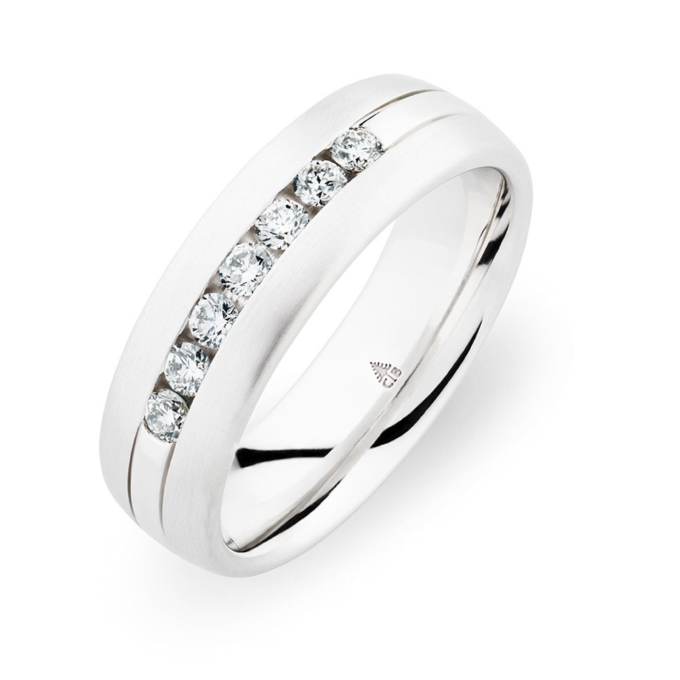 244744 Christian Bauer 18 Karat Diamond  Wedding Ring / Band