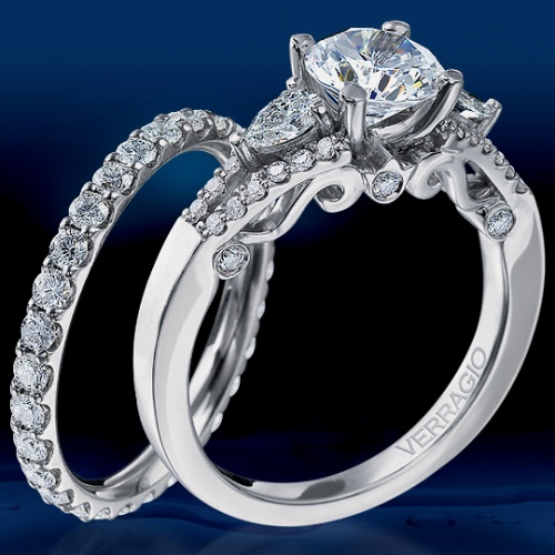Verragio Platinum Insignia Engagement Ring INS-7024