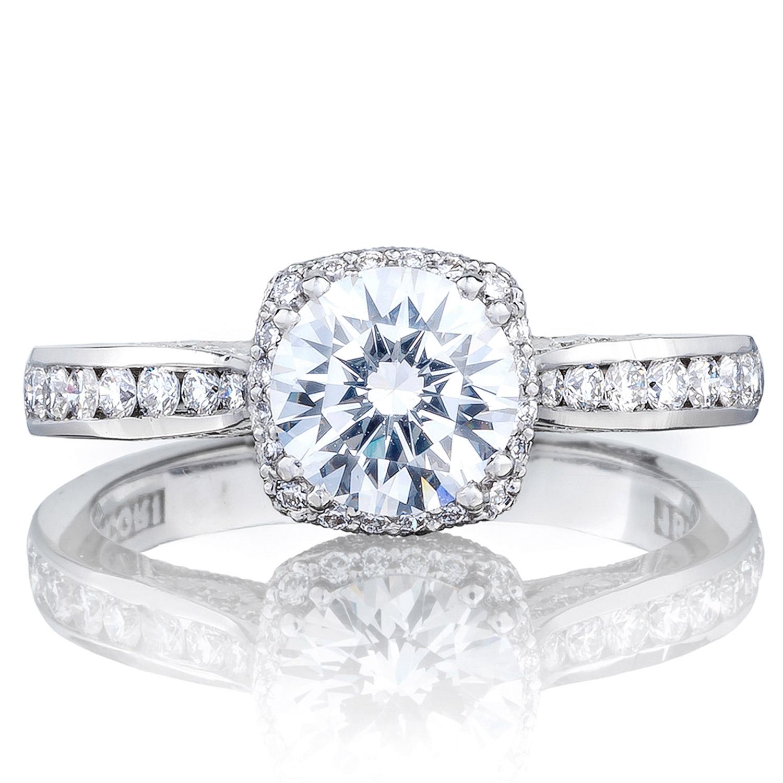 Tacori 2646 25rdc65 18 Karat Dantela Engagement Ring Tq