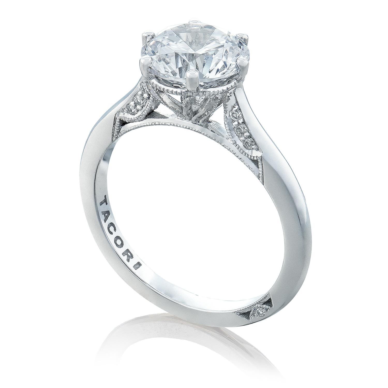 Engagement Rings Tacori: Tacori 2650RD8 18 Karat Simply Tacori Engagement Ring