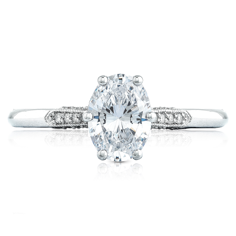 2651ov75x55 platinum simply tacori engagement ring tq diamonds