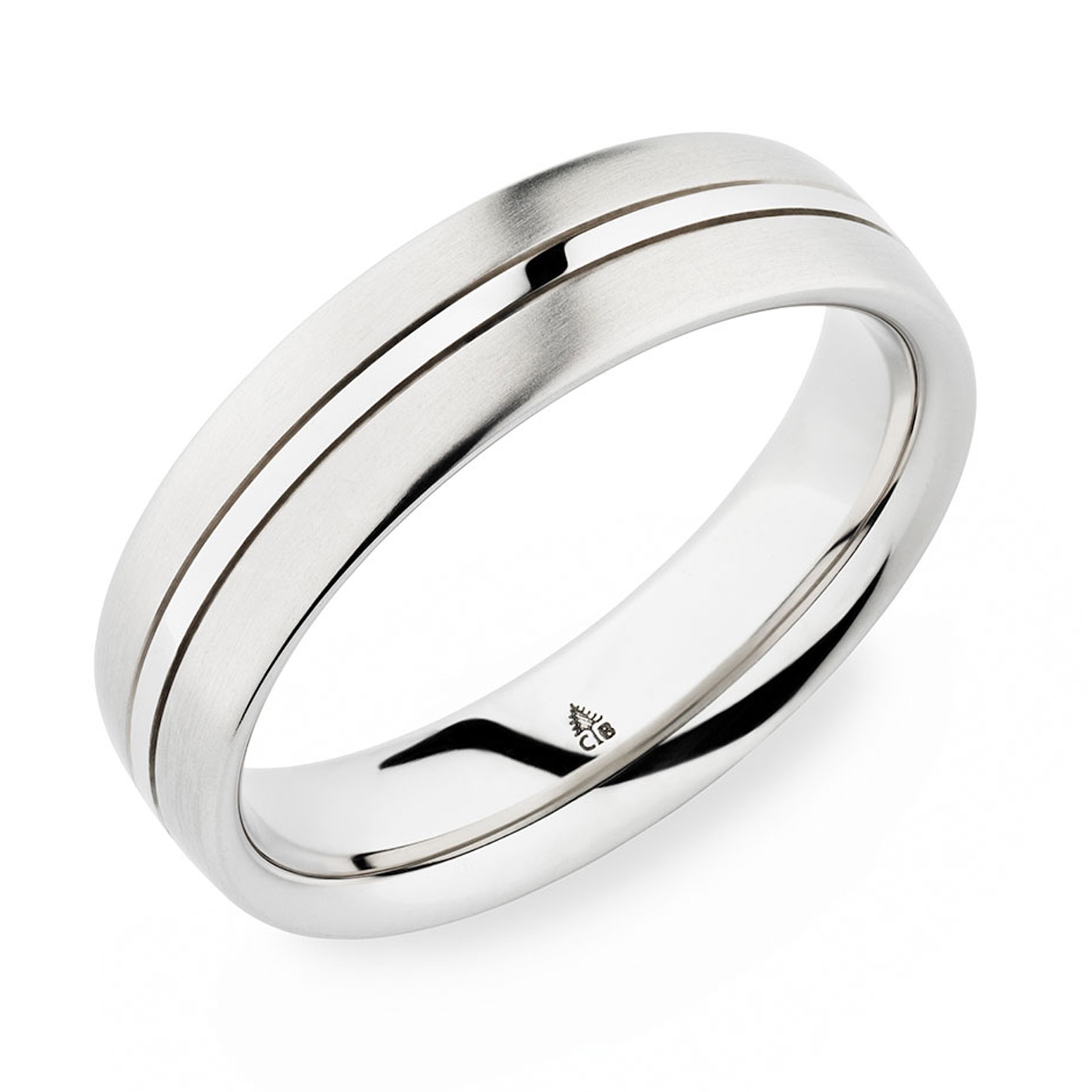 274173 christian bauer platinum wedding ring band tq for Christian bauer wedding rings