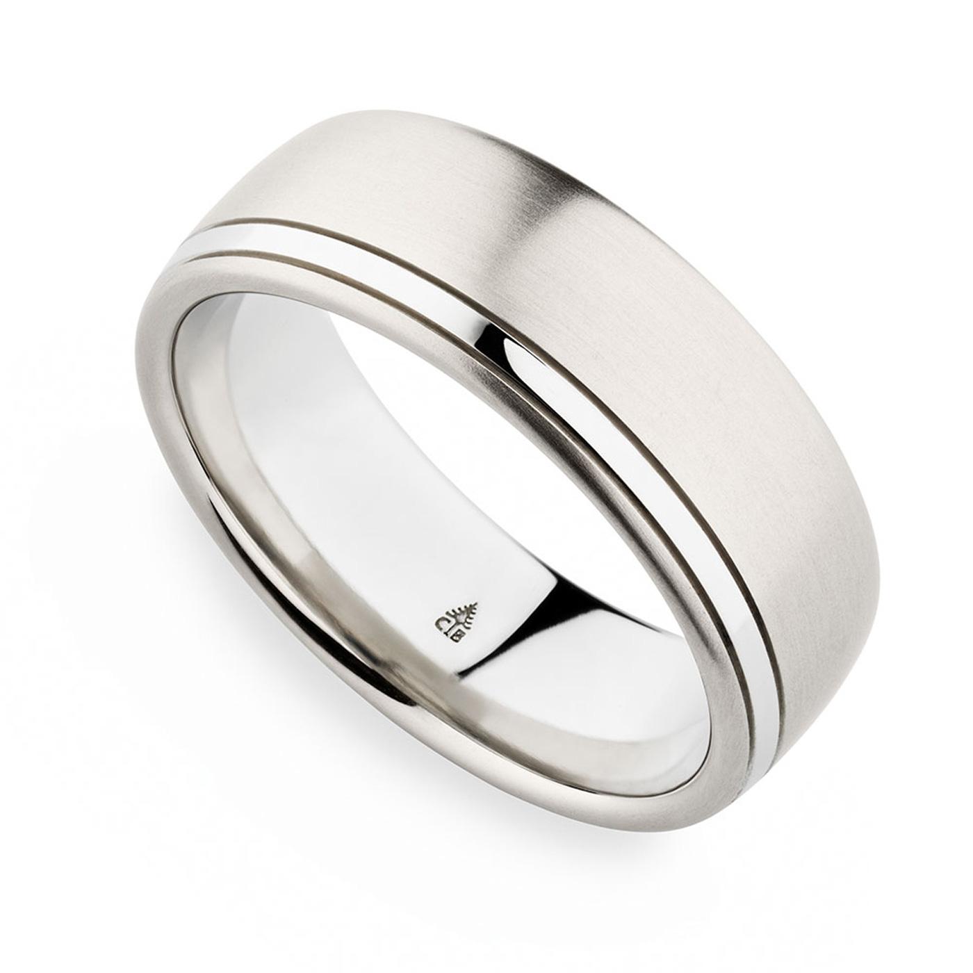 274309 Bauer 18 Karat Wedding Ring Band