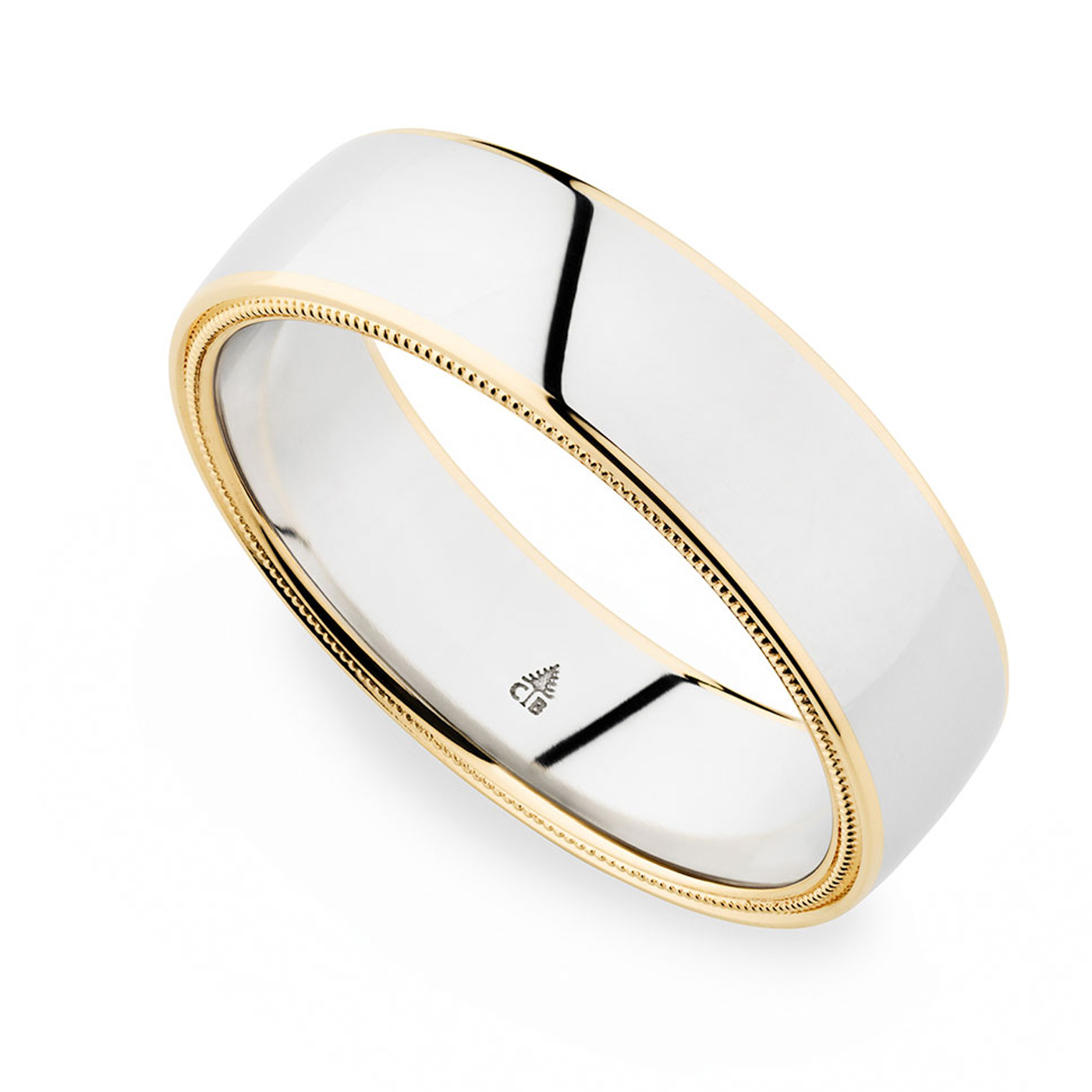 274441 christian bauer palladium 18 karat wedding ring for Christian bauer wedding rings