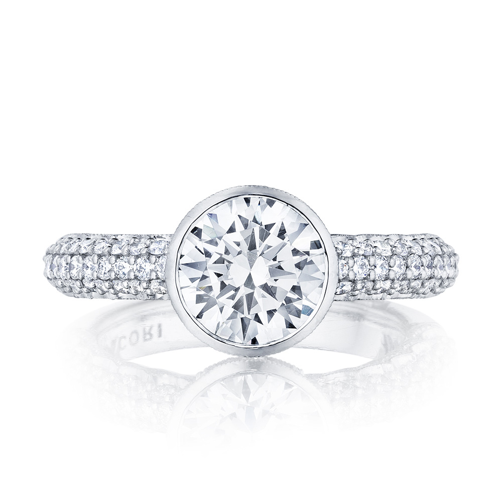 307-35RD8 Platinum Tacori Starlit Engagement Ring