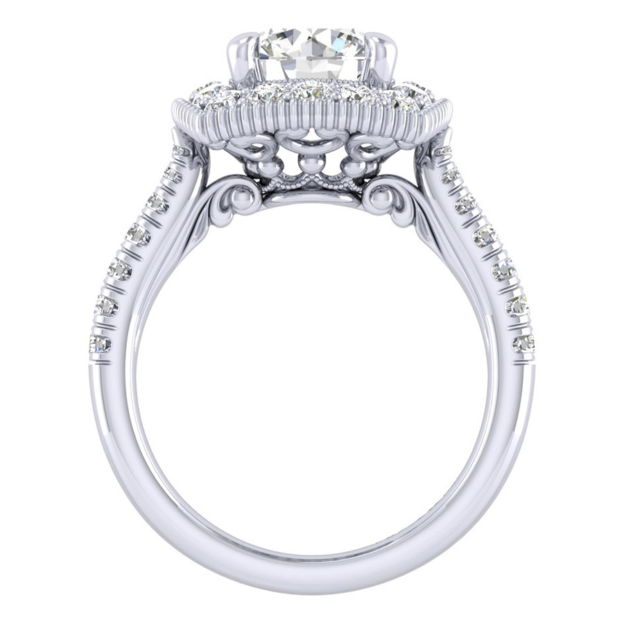 Gabriel 14 Karat Perfect Match Engagement Ring ER039C8ABW44JJ Alternative View 1