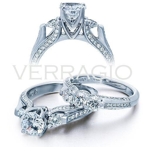 Verragio 18 Karat Euro Engagement Ring ENG-8048 Alternative View 1