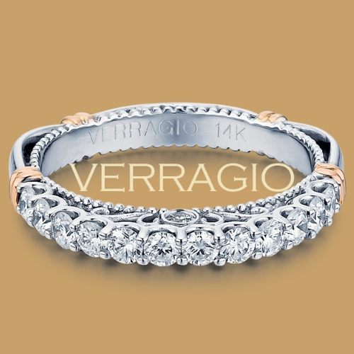 Verragio Parisian-103LW 18 Karat Wedding Ring / Band Alternative View 1