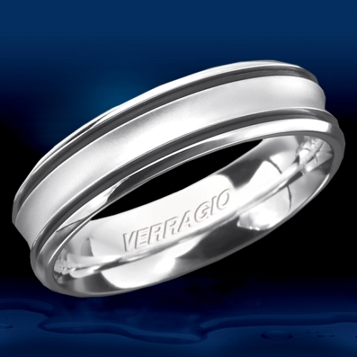 Verragio 14 Karat In-Gauge Wedding Band RU-6070 Alternative View 1