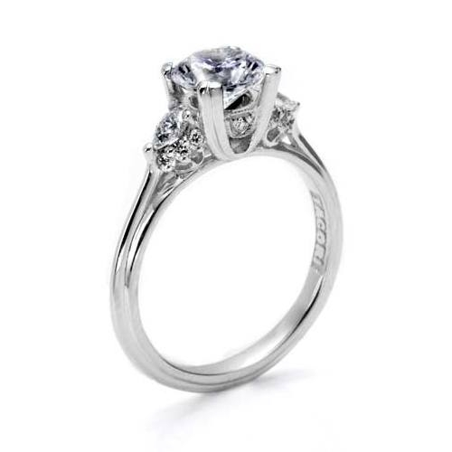 Tacori Platinum Simply Tacori Engagement Ring HT2311 Alternative View 1