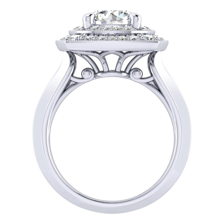 Gabriel 14 Karat Perfect Match Engagement Ring ER001C8AFW44JJ Alternative View 1