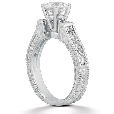 Taryn Collection 14 Karat Diamond Engagement Ring TQD A-653 Alternative View 1