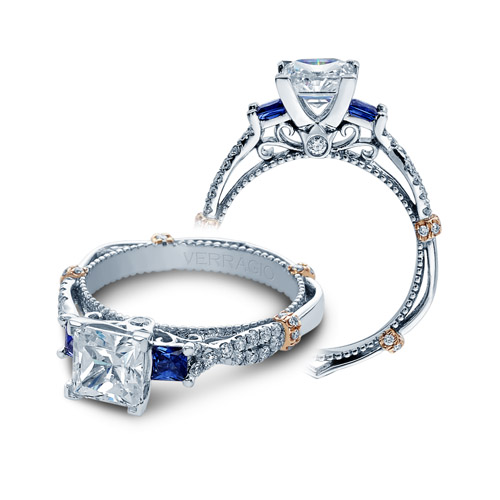 Verragio Parisian-CL-DL129P 14 Karat Engagement Ring