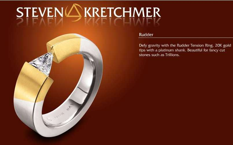 Kretchmer Platinum Rudder Tension Set Ring Alternative View 1