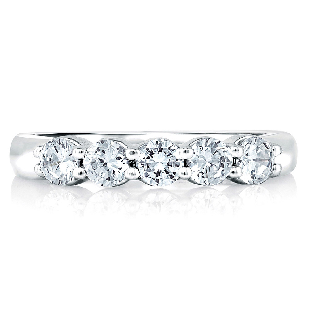 a jaffe signature platinum wedding ring mrs015