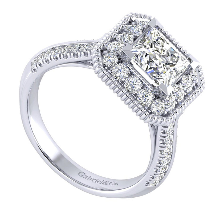 Gabriel 14 Karat Perfect Match Engagement Ring ER002C6ALW44JJ Alternative View 2